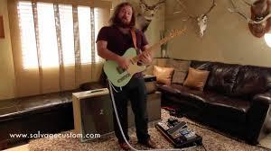 Custom Guitar Speaker Cabinets Salvage Custom 2x10 Speaker Cab Demo Vs Dr Z 4x10 Youtube