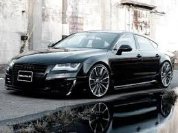 audi a7 blacked out. wald unveils mafiainspired audi a7 sportback blacked out