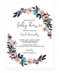 Easy Invitation Templates Downloadable Baby Shower Invitation Templates Easy Template