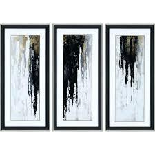 framed art sets of 3 wall arts wall art set of 3 best abstract wall art