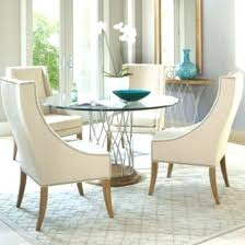 large round glass dining table round glass dining table set drum pendant lamp with sisal rug