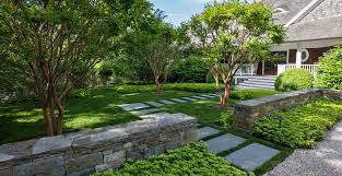 How To Design Backyard Classy Hamptons Landscaping Lawn Care Estate Maintenance Landscape