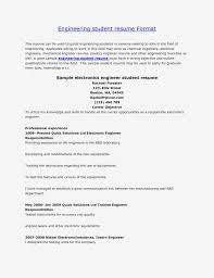Mechanical Engineer Student Full Engineering Template Resume