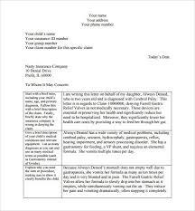 Health Insurance Appeal Letter Template Best Template Idea