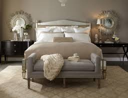 elegant fine piece bedroom furniture. Lillian August Bedroom L Mirrored Bed And Dark Bedside Tables Gold Accents Elegant Fine Piece Furniture D