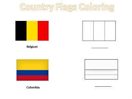Small Picture Coloring Page Spanish Speaking Countries Flags Coloring Pages