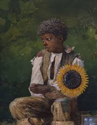 winslow homer s taking sunflower to teacher gmoa was on loan to the exhibition american watercolor in the age of homer and sargent at the philadelphia