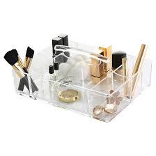 The Glamour Caddy Cosmetic Organization System Clear - BINO