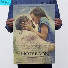the notebook james marsden movie poster drawing core home  the notebook james marsden movie poster drawing core home furnishing decoration kraft movie poster wall stickers in wall stickers from home garden on