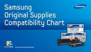Lexmark Ink Compatibility Chart Samsung Original Supplies Compatibility Chart