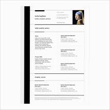Free Resume Templates For Mac New Free Resume Template Awesome