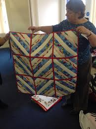 221 best Project Linus UK Bexley branch images on Pinterest ... & Kim's lovely strippy quilt Adamdwight.com