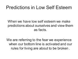 Lift Your Low Self Esteem Week 1 – Introduction to Low Self Esteem ...