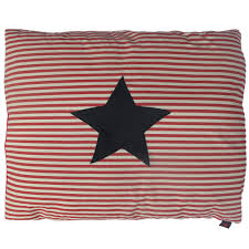 floor cushions for kids.  Kids Kids Floor Cushion  Star Denim On RedWhite Stripe With Cushions For