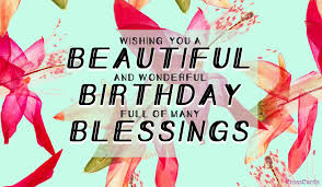 Free Beautiful Birthday Blessings Ecard Email Free Personalized