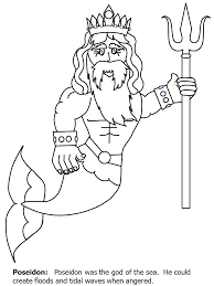 Small Picture Homey Ideas Poseidon Coloring Pages 6 Ancient Greek Gods Heroes