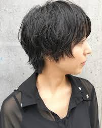 くせ毛風のショートヘアカタログ25選天然パーマを生かす髪型も Belcy