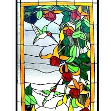 stain glass hummingbird hummingbird stained glass patterns window flower hummingbirds panel windows for hummingbird stained glass