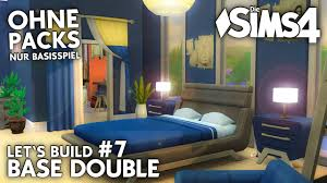 Die Sims 4 Doppelhaus Bauen Ohne Packs Base Double 7