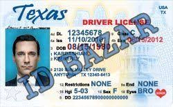 Spooky Template Ooh Passport Psd soo Permit Driver Certificate Texas License Drivers Birth