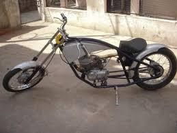 custom yamaha rx100 chopper