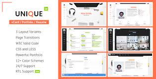 Resume Portfolio Delectable CV Resume Portfolio By LMPixels ThemeForest
