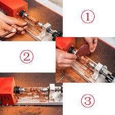 more detailed photos 220v 280w mini lathe beads machine woodworking diy