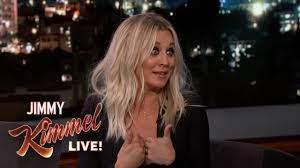 Kaley Cuoco on The Big Bang Theory - YouTube