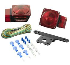 Trailer Light Requirements Amazon Com Lighting Technologies Lt444 Red Submersible