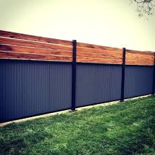 privacy fence with metal posts metal privacy fence inspiring corrugated metal privacy