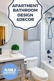 Rental Bathroom Decor Ideas Amli Residential
