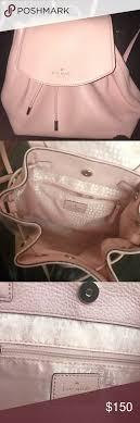 Kate Spade Light Pink Backpack Kate Spade Mulberry Street Backpack Light Pink Drawstring