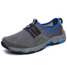 Men's Summer Hollow Out Breathable <b>Outdoor</b> Sports Shoes Non-slip