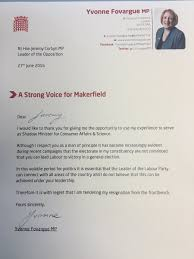 the typography of labour resignation letters images tweets i have today resigned from the frontbench as shadow minister consumer affairs science