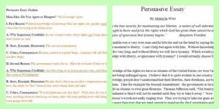 essay on persuasion co essay on persuasion
