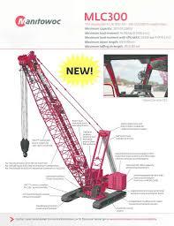 Manitowoc Mlc300 Crawler Crane Cranepedia
