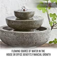 vastu shastra flowing water financial success