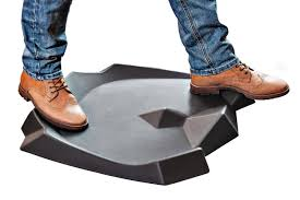 this mat was specially created for standing desk users ergohead mat is an ergonomic anti fatigue mat that is designed specifically for smaller standing