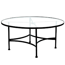 outstanding small round glass outdoor table