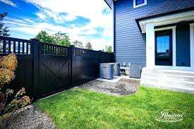 black vinyl fence panels. Perfect Panels Menards Fence Panels Black Vinyl Privacy Fencing From  Illusions Are The Inside Black Vinyl Fence Panels G