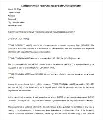 Letter Of Intent To Purchase Goods Fascinating Letter Of Intent To Purchase Bravebtr
