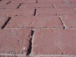 remove oil stains brick pavers