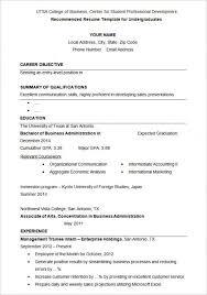 Formal Resume Templates Musiccityspiritsandcocktail Com