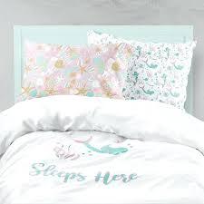 kids ocean bedding stylish mermaid bedding pink aqua bedding mermaid girl room ocean mermaid bedding set