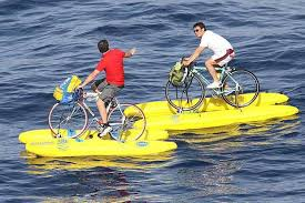 Juggaar Hack Your Life Amphibious Bicycle