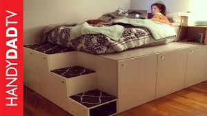 ikea storage bed hack.  Hack IKEA Hack Platform Bed DIY With Ikea Storage A