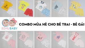 Combo 5 Quần Áo Sơ Sinh Mùa Hè Cho Bé Trai Và Bé Gái - SiHu Baby - Shop  Hàng Tiêu Dùng Trẻ Em