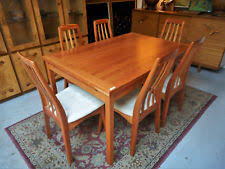 danish modern dining room chairs. Danish Modern Mid Century Cherry Draw Leaf Dining Table 6 Benny Linden Chairs Room