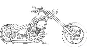 Harley davidson motorcycle drawing at getdrawings free for ghost rider poster ghost rider chopper schematics