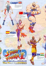 super street fighter ii turbo game art gallery